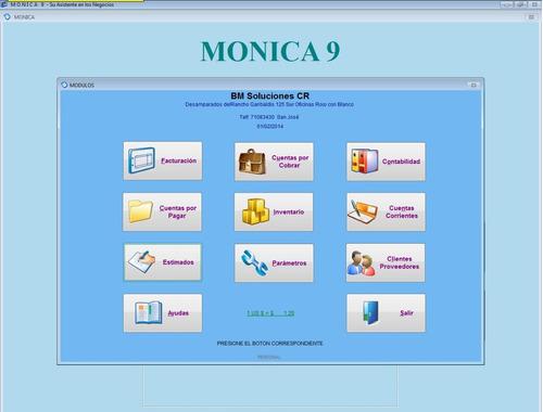 sistema de inventarios y facturación monica 9