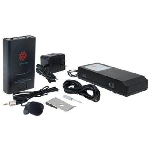 sistema de micrófono inalámbrico para conferencia polycom