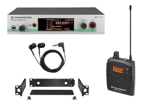 sistema de monitor inalámbrico en la oreja sennheiser ew 300