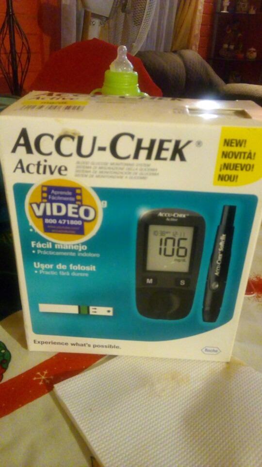 e0b44ac1e sistema de monitoreo de glucemia accu check active nuevo. Cargando zoom.