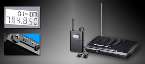 sistema de monitoreo inalambrico takstar wpm200 envio full !