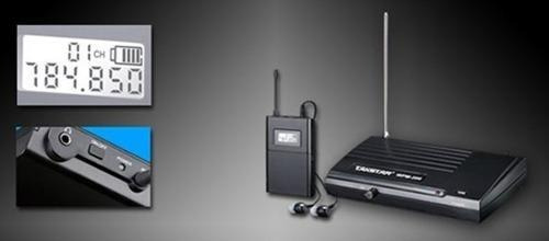 sistema de monitoreo inalambrico takstar wpm200 envio gratis
