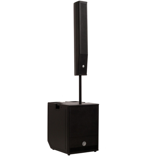 sistema de pa ativo compacto portátil 400w omne 800 soundbox