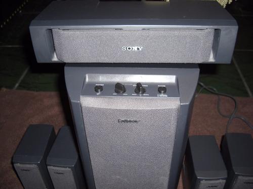 sistema de parlantes sony 5.1 con subwoofer activo