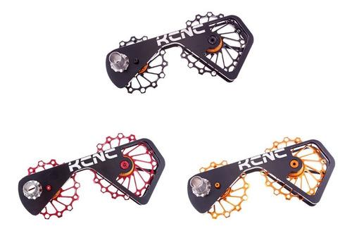 sistema de poleas para desviador kcnc 14/16t para shimano