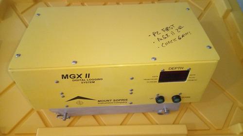 sistema de registro digital mount sopris mgxii