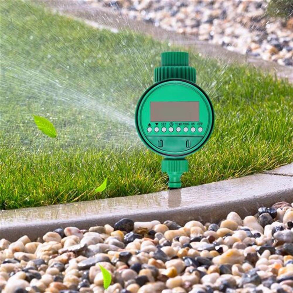 Sistema de riego automatico temporizador timer jardin for Riego automatico jardin