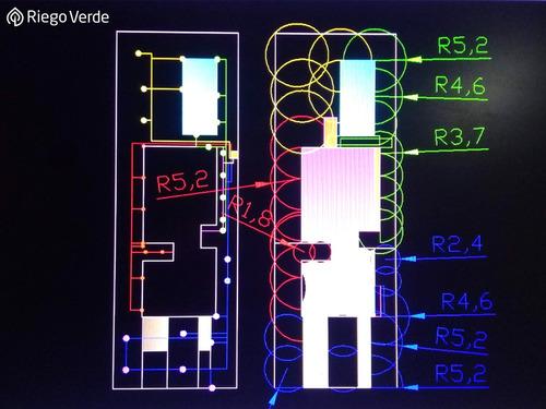 sistema de riego automático - visita s/ cargo