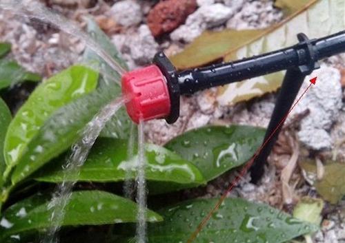 Sistema de riego por goteo rociador aspersor jardin 50 for Aspersor de jardin