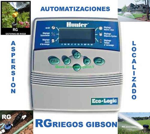 sistema de riegos: aspersion microaspersion automatizaciones