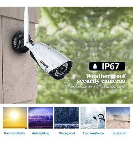 sistema de seguridad de cámara 4ch 1080p auto par wifi red v