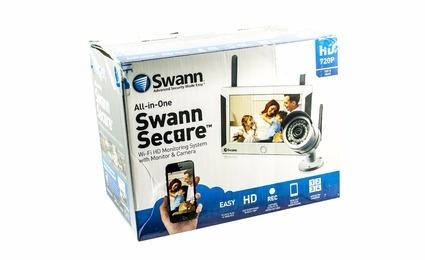sistema de seguridad wi-fi swann
