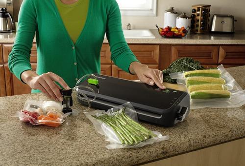 sistema de sellado al vacío foodsaver fm2000-ffp con jueg