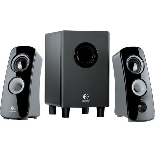 sistema de sonido 2.1 logitech z323 · 30 watts rms (reales)