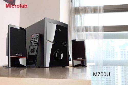 sistema de sonido 2.1 microlab m710u  milcosaslanus