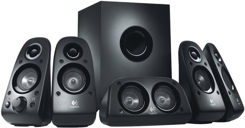 sistema de sonido 5.1 logitech z506 · 75 watts rms (reales)