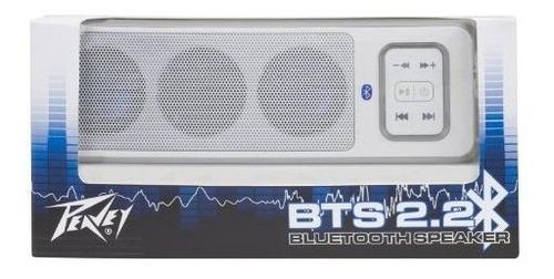sistema de sonido bluetooth peavey bts 22 blanco