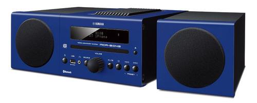sistema de sonido componente yamaha mcr-b043 azul