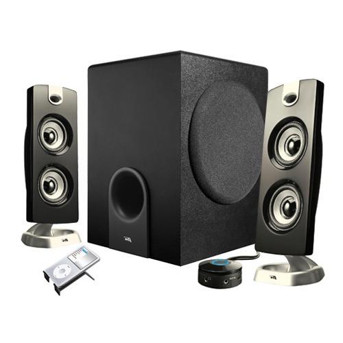 sistema de sonido cyber acoustics platinum ca-3602