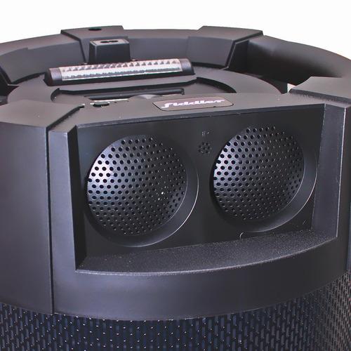 sistema de sonido fiddler rumba10 95w bluetooth karaoke