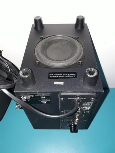 sistema de sonido logitech 30 w, especial para pc