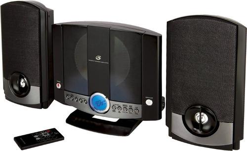 sistema de sonido vertical gpx cd fm am reloj alarma