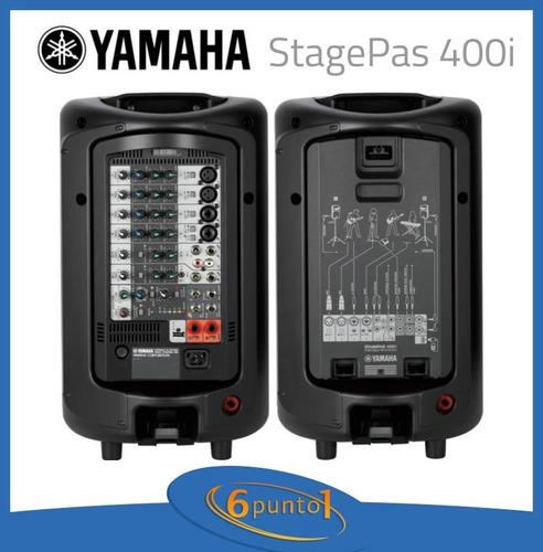 sistema de sonido yamaha stagepas 400i recoleta 6 ctas s/i