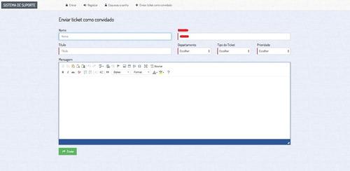sistema de suporte - script php de atendimento via ticket