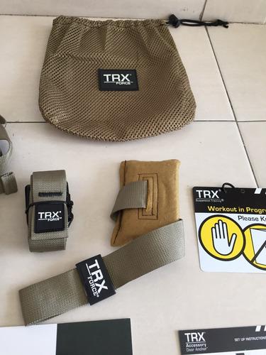 sistema de suspension trx tactical + 4 bandas + x mount