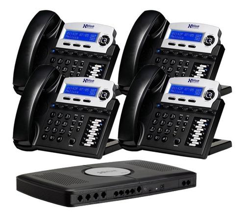 sistema de teléfono para oficina expandible x16 de lujo