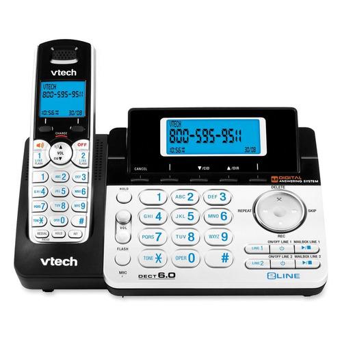 sistema de teléfono vtech  para 2 lineas - expandible ds6151