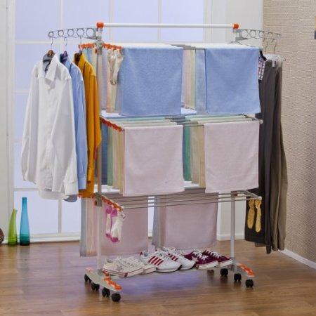 Sistema de tendedero compacto resistente plegable - Tendedero ropa plegable ...