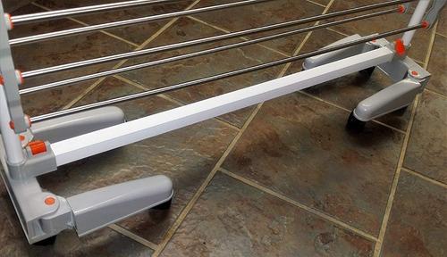 sistema de tendedero compacto resistente plegable