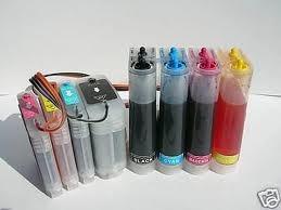 sistema de tinta continuo para todas las impresoras hp,canon