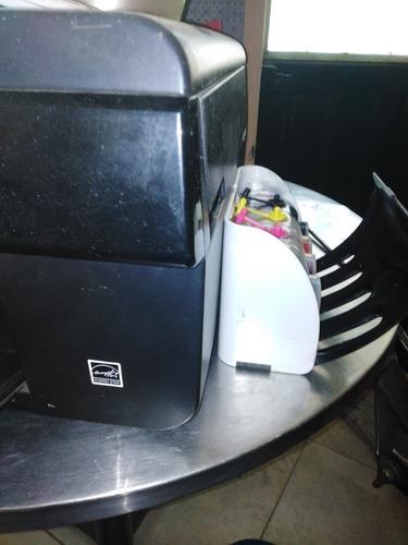 sistema de tinta epson tx 115 tanque lujo istructivo drenaje