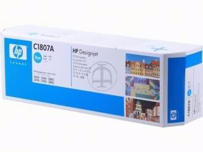 sistema de tinta hp designjet cp dye c1807a cyan