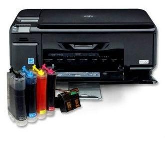 sistema de tintas continuo hp con tintas y tambien instalado