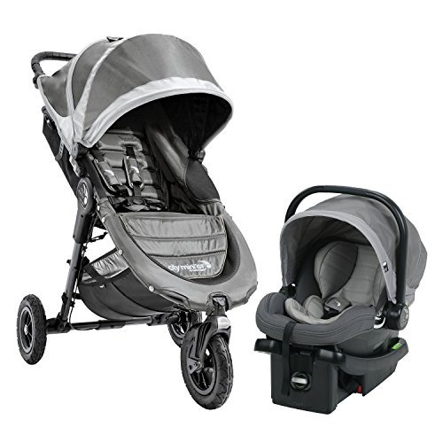 sistema de viaje baby jogger city mini gt, gris acero