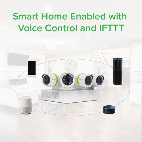 sistema de vigilancia al aire libre ezviz full hd de 1080p,