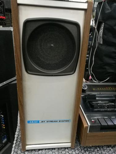 sistema deck+tuner akai gxc-40t com caixas full vintage