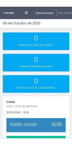 sistema delivery online