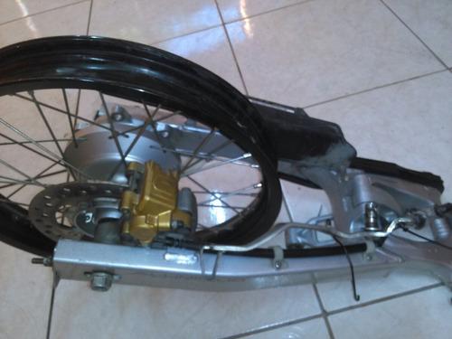 sistema disco roda traseira crf, tornado, xre