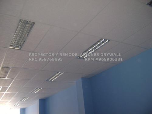 sistema drywall solución rápida, económica y polifuncional
