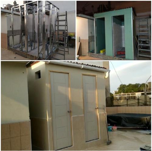 sistema drywall y divisiones