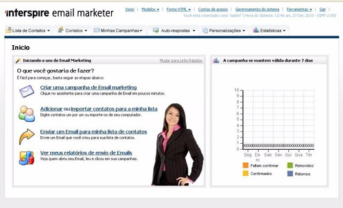 sistema e-mail marketing profissional envio grátis