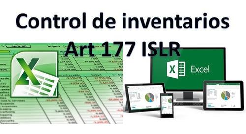 sistema excel contable, contabilidad, inventario, original