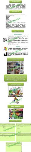 sistema excel control almacén comida escuelas hospitales