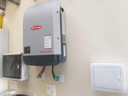 sistema fotovoitaico, sistema de segurança eletrônica