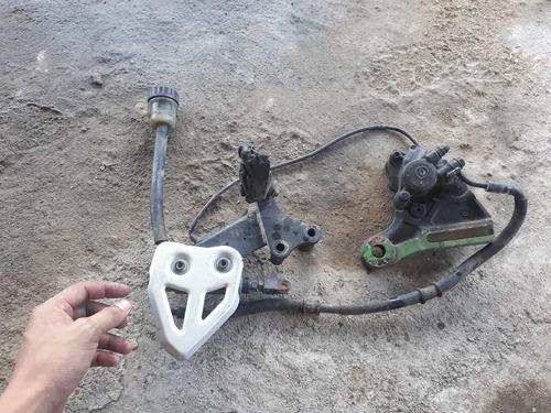 sistema freio traseiro(nao acompanha pedaleira) xt 660