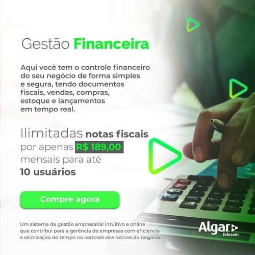 sistema gestão financeira